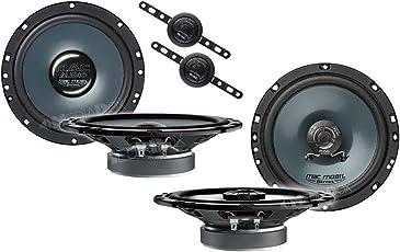 Mac Audio Front/Heck 16,5cm/165mm Auto Lautsprecher/Boxen/Speaker Komplett-Set für VW Volkswagen