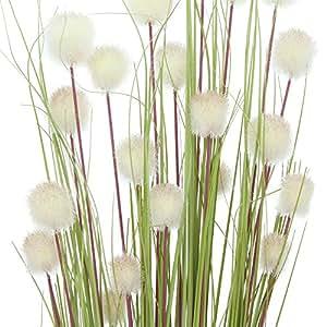 Fascio di decorazione–fiore palla Set, Plastica, grün und weiß, 4