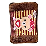 #3: Ascension ® Electric Hot Bag, Hand warmer, Electric heater Warm bag, Heating Gel Pad Fur Velvet with Hand Pocket Pain Relief (Multicolour & Multi design)