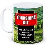 Yorkshire Git - Grappig Grappig Hoogwaardige Koffie Thee Mok