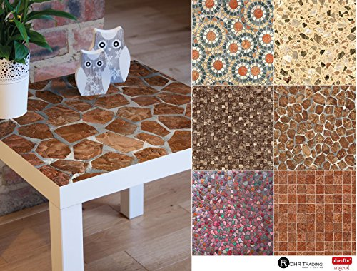 ... Selbstklebende Folie Tapete Klebefolie Möbel Küche Tür Fliesen U0026 Deko  Fototapete Steintapete Stein Steinoptik Mosaik Mosaikoptik