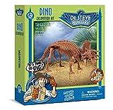 Unbekannt Geoworld 625268 - Dr. Steve Hunters: Dino Ausgrabungs-Set - Triceratops-Skelett, Alter: 6+, Größe: 21 cm