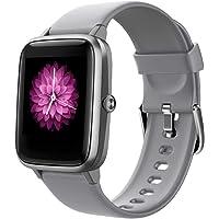 Smartwatch für Damen und Herren, Smart Watches for Kids,Smartwatch mit Touchscreen, wasserdicht, Sport, Schrittzähler…
