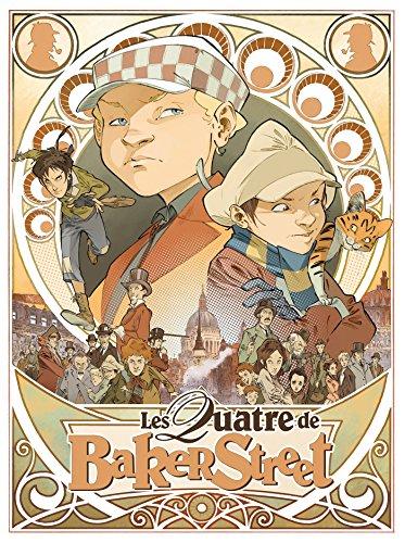 Les Quatre de Baker Street - Coffret: Tome 1 + Le Monde des Quatre + Le jeu de rôle
