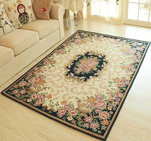 MeMoreCool collezione Contemporary Design Jacquard tappeto con retro antiscivolo, Comodino/Camera