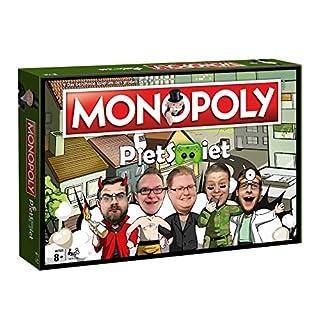 Monopoly - PietSmiet - Deutsch - 6 Sammler Spielfiguren | Gesellschaftsspiel | Brettspiel