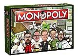 PietSmiet Monopoly Deutsch - 6 Sammler Spielfiguren | Gesellschaftsspiel | Brettspiel