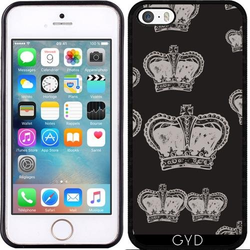 Coque pour Iphone SE - Couronne by WonderfulDreamPicture Silicone