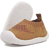 DEBAIJIA Bébé Chaussures Premier Pas pour Enfants Garçons Filles de 1-4 Ans, Chaussons en Toile/Maille de Marche…