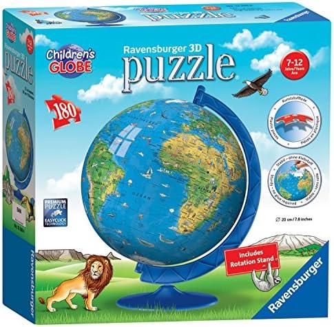 Ravensburger pour   Globe terrestre 180 pièces Puzzle 3D | Livraison Immédiate