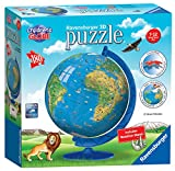 Ravensburger Children\'s World Globe 180 piece 3D Jigsaw Puzzle