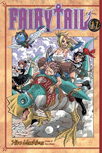 Fairy Tail 11 por Hiro Mashima