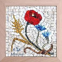 Kit d'artisanat de la mosaïque pour adultes: Les quatre saisons l'été - Projet d'art mosaïque - Idées cadeaux d'anniversaire – décoration intérieure DIY - Cadeaux d'art pour elle
