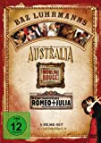 Australia / Moulin Rouge / William Shakespeare's Romeo + Julia [3 DVDs] - William Shakespeare