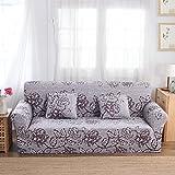 FORCHEER Sofabezug elastische Sofahusse Sesselbezug Stretchhusse Sofaüberwurf Couch Husse mit 4 verschienden Größe ( 3-Sitzer, 190-230cm, Farbe #10 )