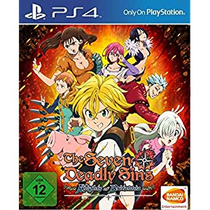 The Seven Deadly Sins: Knights of Britannia – [PlayStation 4]
