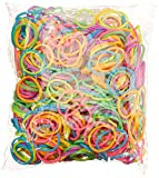Best Creativity for Kids Headbands - BlueDot Trading 2400-Piece Neon Rubber Band Kids Craft Review