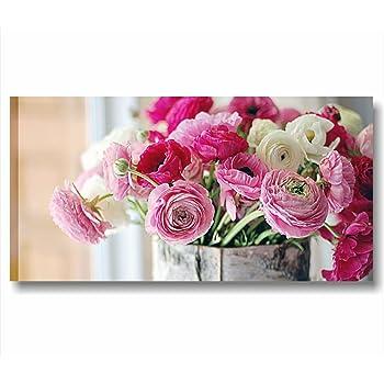 ... Druck Auf Leinwand Blumen Rosen Pfingstrosen Shabby Boho Chic Moderne  Französischen Landhausstil Style Romantic Country Möbel Wohnzimmer Büro  Home Decor