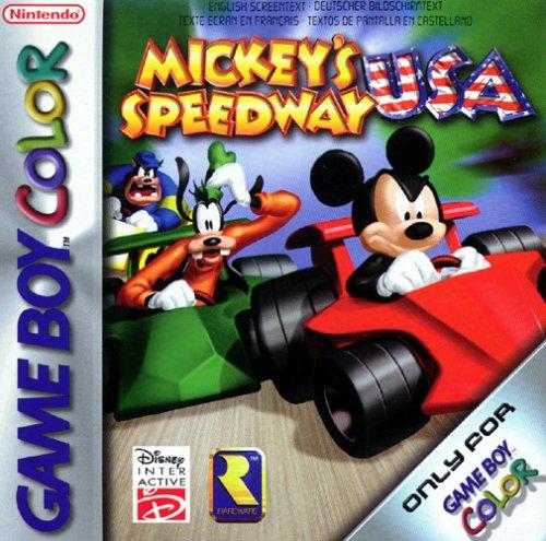 Disney Spiele Gameboy (Mickey's Speedway USA)