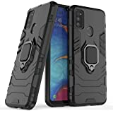 Designerz Hub® Samsung Galaxy M30s / Galaxy M21 Double-Layer Shockproof and Sturdy Hybrid Protective Shell with Bracket…
