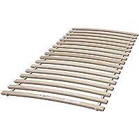 Rollrost aus stabilen Federleisten für Liegefläche 90 x 200 cm - Hochwertiger Lattenrost aus Birkenschichtholz - 90 x 1…
