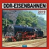 Technikkalender DDR-Eisenbahnen 2019 Bahnkalender Ostdeutschland Züge: Mit Texten von Udo Paulitz.