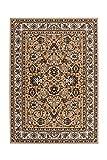 Teppich Wohnzimmer Carpet Klassisch Traditionell Design Asia 003 Rug Ornament Bordüre Muster Polypropylen 120x170 cm Beige/Teppiche günstig online kaufen