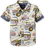 #5: Cherokee Boys' Plain Regular Fit Cotton Shirt