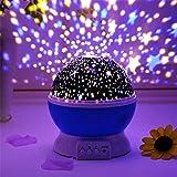 DONDA Projector Night Light Lamp with USB Cable |Star Projector Night Lamp | Star Light Rotating Projector |Night Lamp for Ki