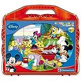 Clementoni 41159.7 Mickey - Puzzle de cubos para bebés (12 cubos)