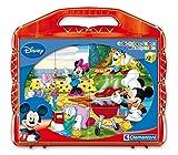 Clementoni 41159.7 - Würfelpuzzle - 12er Würfel Mickey