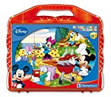 Clementoni 41159 - Puzzle Cubi Mickey, 12 Pezzi