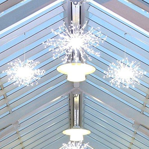 Außen Großes Weihnachtsbeleuchtung Calgary Funke/Schneeflocke Motiv, 360 LEDs weiß, 80cm