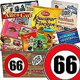 Geschenk zum 66. Geburtstag   Geschenk Schokolade Box   GRATIS DDR Kochbuch   Schokoladen Geschenke