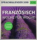 PONS Sprachkalender 2019: Französisch Woche für Woche