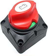12v 24v Interruttore stacca-batterie Staccabatteria per Moto Barca Auto Camion