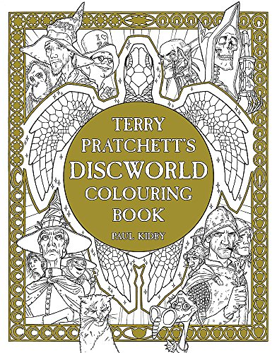 Terry Pratchett's Discworld Colouring Book Cover Image