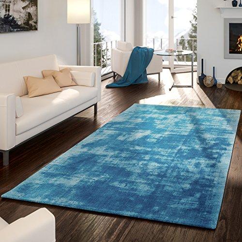 teppich-handgetuftet-modern-qualitt-edel-viskose-garn-schimmer-glanz-trkis-gre10x10-cm