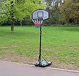 Generic Djustable Basketballständer AL-FU Tragbarer Verstellbarer Ball Sta Netz Haken und Netzhaken
