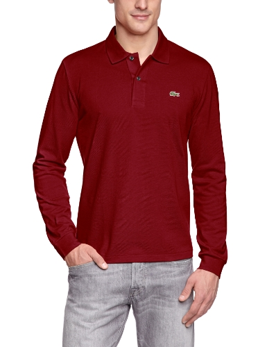 Lacoste L1312-00 Herren Poloshirt,Rot (476), Gr.Large (Herstellergröße: 5)