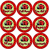 144 Lovely Ladybirds 30mm Children