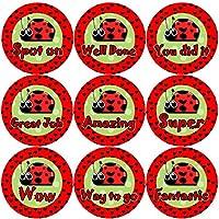 144 Lovely Ladybirds 30mm Children