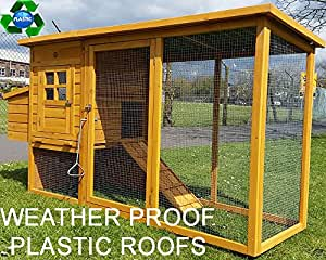 COCOON CHICKEN COOP HEN HOUSE POULTRY ARK NEST BOX NEW - NOW WITH REAR VENT HOLES AND SECURE NEST BOX FLOOR - ONLY SOLD BY SELLER 'COCOON' ON AMAZON