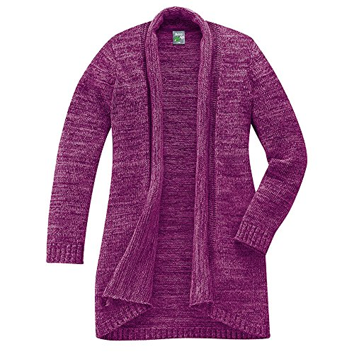 HempAge Damen Strickjacke Berry XXL