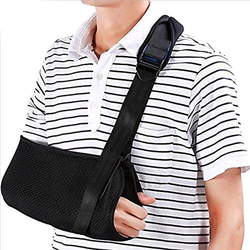 Msmask Armschlinge Bruch Fixing Band Elbow Fixation Brace Immobile Stützverpackungs Gesundheit