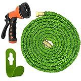 Magic Vida FlexiSchlauch flexibler Gartenschlauch Zauberschlauch 30m geringes Gewicht & platzsparende Aufbewahrung inkl. Brause mit 7 Funktionen (30m)