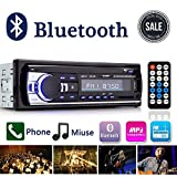 Autoradio Bluetooth, Digital Media Ricevitore Auto audio stereo con vivavoce Bluetooth, Supporto Auto Radio FM...