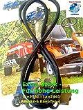 Nr.133, Keilriemen für Fleurelle AMH 1251 / 13CH763N619 (1999) Mähwerk AA93
