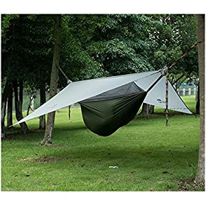 naturehike 1 person camping hammock tent outdoor hanging bed with mosquito net hanging tent