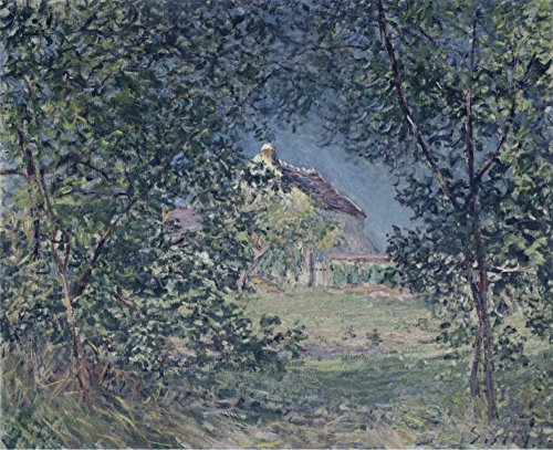 Das Museum Outlet - Edge of the Forest in Spring, 1885, gespannte Leinwand Galerie verpackt. 40,6 x 50,8 cm 1885 Antike